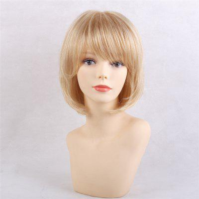 Natural Wave Head Elegant Human Hair Wigs Suitable for All Kinds of People