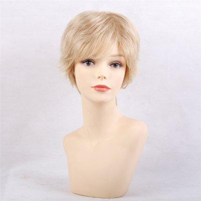 Simple Fashion Style and Natural Short Hair Human  Wigs