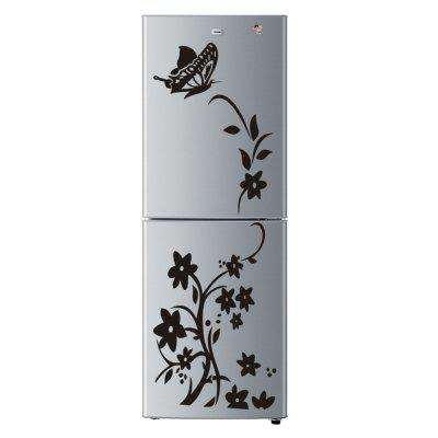 Butterfly Flower Rattan Art Decals for Refrigerator Decoration DIY StickersWall Stickers<br>Butterfly Flower Rattan Art Decals for Refrigerator Decoration DIY Stickers<br><br>Effect Size (L x W): 140x50cm<br>Function: Decorative Wall Sticker<br>Layout Size (L x W): 88x42.5cm<br>Material: Vinyl(PVC)<br>Package Contents: 1 x Wall Sticker<br>Package size (L x W x H): 42.00 x 4.00 x 4.00 cm / 16.54 x 1.57 x 1.57 inches<br>Package weight: 0.1900 kg<br>Product weight: 0.1300 kg<br>Quantity: 1<br>Subjects: Cartoon<br>Suitable Space: Living Room,Office,Cafes,Kids Room<br>Type: Plane Wall Sticker