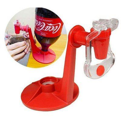Down Automatic Drink Dispenser Hand Pressure Beverage Drinking Fountains Switch for Coke Bottle Party Supplies