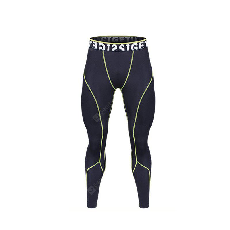 Daifansen Men's High Flexibility Fast Dry Tight Sport Pant