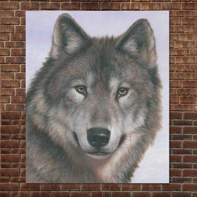 Modern High Definition Canvas Wolf Painting on Canvas Animal Painting Living Room Home Wall Decor