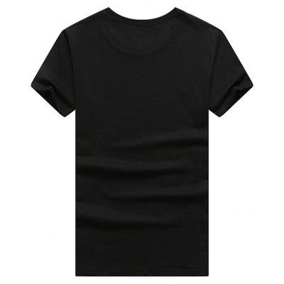 Mens Student Short Sleeve 3D Print T-shirtMens Short Sleeve Tees<br>Mens Student Short Sleeve 3D Print T-shirt<br><br>Collar: Round Neck<br>Material: Cotton<br>Package Contents: 1 x T-shirt<br>Pattern Type: Others<br>Sleeve Length: Short Sleeves<br>Style: Casual<br>Weight: 0.5000kg