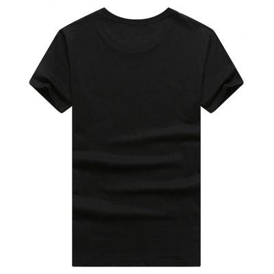 Male Short Sleeve 3D Print T-shirtMens Short Sleeve Tees<br>Male Short Sleeve 3D Print T-shirt<br><br>Collar: Round Neck<br>Material: Cotton<br>Package Contents: 1 x T-shirt<br>Pattern Type: Others<br>Sleeve Length: Short Sleeves<br>Style: Casual<br>Weight: 0.5000kg