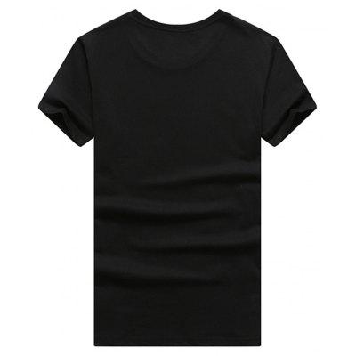 Mens Short Sleeve 3D T-shirtMens Short Sleeve Tees<br>Mens Short Sleeve 3D T-shirt<br><br>Collar: Round Neck<br>Material: Cotton<br>Package Contents: 1 x T-shirt<br>Pattern Type: Others<br>Sleeve Length: Short Sleeves<br>Style: Casual<br>Weight: 0.5000kg