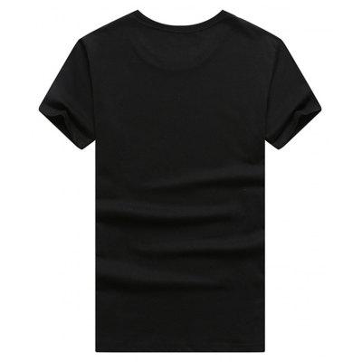 Mens Short Sleeve 3D Print T-ShirtMens Short Sleeve Tees<br>Mens Short Sleeve 3D Print T-Shirt<br><br>Collar: Round Neck<br>Material: Cotton<br>Package Contents: 1 x T-shirt<br>Pattern Type: Others<br>Sleeve Length: Short Sleeves<br>Style: Casual<br>Weight: 0.5000kg