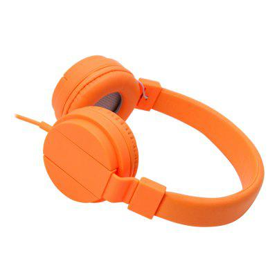 The New Fashion Head-Mounted Music HeadphonesEarbud Headphones<br>The New Fashion Head-Mounted Music Headphones<br><br>Compatible with: Mobile phone, MP3<br>Connectivity: Wired<br>Function: MP3 player, HiFi<br>Material: Plastic<br>Package Contents: 1 x Headphones<br>Package size (L x W x H): 14.80 x 14.80 x 7.50 cm / 5.83 x 5.83 x 2.95 inches<br>Package weight: 0.2250 kg<br>Type: On-ear