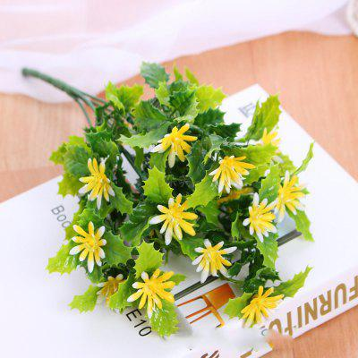 4 Pcs Artificial Flowers Simulation of Plants Canteen Cut Off Ornamental Wedding Table Decoration