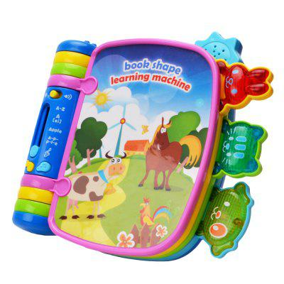 Musical Book Flip Learning Toys