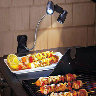 The New LED Multifunction Barbecue Black ABS Material Camping Lights