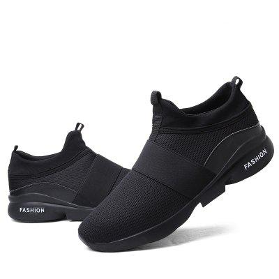 Breathable Mesh Casual Sports Running Men ShoesMen's Sneakers<br>Breathable Mesh Casual Sports Running Men Shoes<br><br>Available Size: 39-44<br>Closure Type: Lace-Up<br>Feature: Breathable<br>Gender: For Men<br>Outsole Material: Rubber<br>Package Contents: 1 x shoes(pair)<br>Package Size(L x W x H): 33.00 x 21.00 x 13.00 cm / 12.99 x 8.27 x 5.12 inches<br>Package weight: 0.5500 kg<br>Pattern Type: Solid<br>Season: Spring/Fall<br>Shoe Width: Medium(B/M)<br>Upper Material: Denim