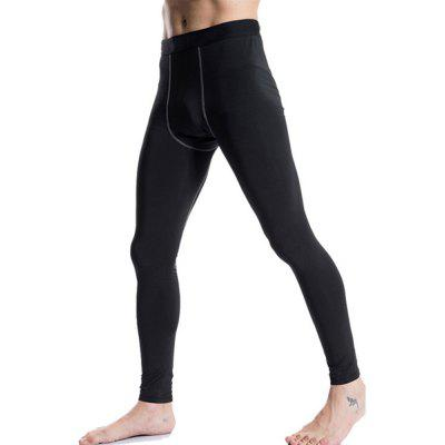 Men Tight Training  Sports Fitness Running TrousersSport Clothing<br>Men Tight Training  Sports Fitness Running Trousers<br><br>Material: Polyester, Spandex<br>Package Contents: 1 x Pants<br>Pattern Type: Solid<br>Weight: 0.1500kg