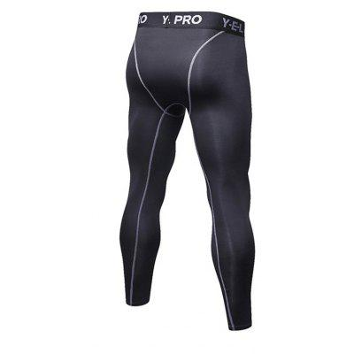 Mens Sports Fitness Tights Training Elastic PantsSport Clothing<br>Mens Sports Fitness Tights Training Elastic Pants<br><br>Material: Polyester, Spandex<br>Package Contents: 1 x Pants<br>Pattern Type: Solid<br>Weight: 0.1700kg