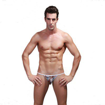 Men's Breathable Printed Gauze Underwear