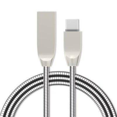 1M Zinc Alloy Fast Charging Data Sync Micro USB Charger Cable