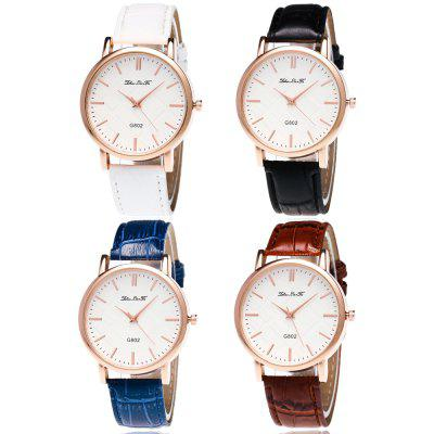 ZhouLianFa Slub Pattern Leisure Quartz WatchWomens Watches<br>ZhouLianFa Slub Pattern Leisure Quartz Watch<br><br>Band material: Leather<br>Band size: 23 x 2cm<br>Brand: ZhouLianFa<br>Case material: Alloy<br>Clasp type: Pin buckle<br>Dial size: 4 x 4 x 1cm<br>Display type: Analog<br>Movement type: Quartz watch<br>Package Contents: 1 x Watch, 1 x Box<br>Package size (L x W x H): 12.00 x 8.00 x 9.00 cm / 4.72 x 3.15 x 3.54 inches<br>Package weight: 0.0900 kg<br>Product size (L x W x H): 23.00 x 4.00 x 1.00 cm / 9.06 x 1.57 x 0.39 inches<br>Product weight: 0.0300 kg<br>Shape of the dial: Round<br>Watch mirror: Mineral glass<br>Watch style: Business, Casual, Fashion, Retro, Outdoor Sports, Childlike, Classic<br>Watches categories: Women,Female table<br>Water resistance: No