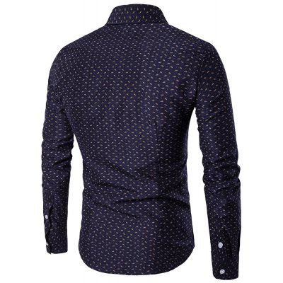 2018 Spring and Summer Fresh Cotton Long-Sleeved  ShirtMens Shirts<br>2018 Spring and Summer Fresh Cotton Long-Sleeved  Shirt<br><br>Collar: Turn-down Collar<br>Material: Cotton Blends<br>Package Contents: 1 X Shirts<br>Shirts Type: Casual Shirts<br>Sleeve Length: Full<br>Weight: 0.4200kg