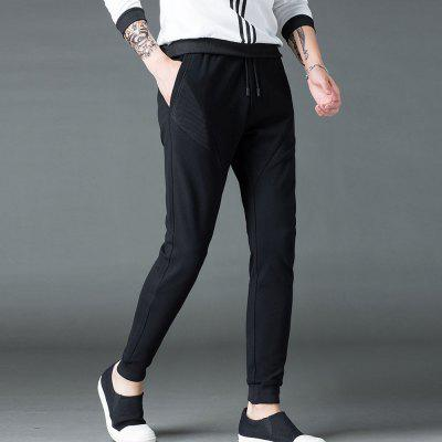 Mens Casual  Fashion Spring and Summer PantsMens Pants<br>Mens Casual  Fashion Spring and Summer Pants<br><br>Closure Type: Elastic Waist<br>Fit Type: Regular<br>Front Style: Flat<br>Material: Polyester<br>Package Contents: 1XTrousers<br>Pant Length: Long Pants<br>Pant Style: Pencil Pants<br>Style: Fashion<br>Waist Type: Mid<br>Weight: 0.3000kg<br>With Belt: No
