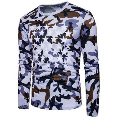 The New Spring Fashion Air Camouflage Printed All-Match Star T-ShirtsMens Long Sleeves Tees<br>The New Spring Fashion Air Camouflage Printed All-Match Star T-Shirts<br><br>Collar: Round Neck<br>Material: Cotton<br>Package Contents: 1xT-shirts<br>Pattern Type: Print<br>Sleeve Length: Full<br>Style: Fashion<br>Weight: 0.3000kg