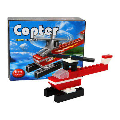 Children Building Blocks Copter