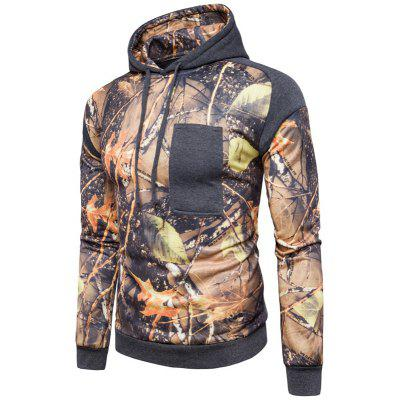 The Trees Printing Color HoodieMens Hoodies &amp; Sweatshirts<br>The Trees Printing Color Hoodie<br><br>Material: Cotton, Polyester<br>Package Contents: 1 x Hoodie<br>Shirt Length: Short<br>Sleeve Length: Full<br>Style: Casual<br>Weight: 0.5000kg