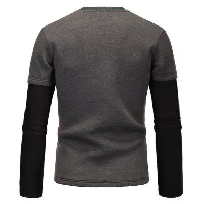 All-Match Fashion Casual SweatshirtMens Hoodies &amp; Sweatshirts<br>All-Match Fashion Casual Sweatshirt<br><br>Material: Cotton, Polyester<br>Package Contents: 1 xSweatshirt<br>Shirt Length: Short<br>Sleeve Length: Full<br>Style: Casual<br>Weight: 0.5000kg