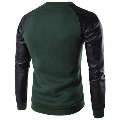 All-Match Fashion Leisure SweatershirtMens Hoodies &amp; Sweatshirts<br>All-Match Fashion Leisure Sweatershirt<br><br>Material: Cotton, Polyester<br>Package Contents: 1 xSweatershirt<br>Shirt Length: Short<br>Sleeve Length: Full<br>Style: Casual<br>Weight: 0.5000kg