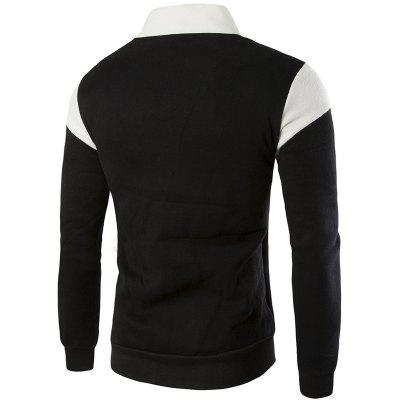 The British All-Match Leisure Fashion SweatershirtMens Hoodies &amp; Sweatshirts<br>The British All-Match Leisure Fashion Sweatershirt<br><br>Material: Cotton, Polyester<br>Package Contents: 1 xSweatershirt<br>Shirt Length: Short<br>Sleeve Length: Full<br>Style: Casual<br>Weight: 0.5000kg