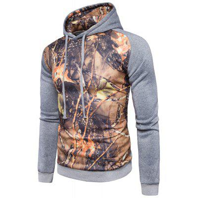 Leaves Fashion Leisure All-Match HoodieMens Hoodies &amp; Sweatshirts<br>Leaves Fashion Leisure All-Match Hoodie<br><br>Material: Cotton, Polyester<br>Package Contents: 1 x  Hoodie<br>Shirt Length: Short<br>Sleeve Length: Full<br>Style: Casual<br>Weight: 0.5000kg