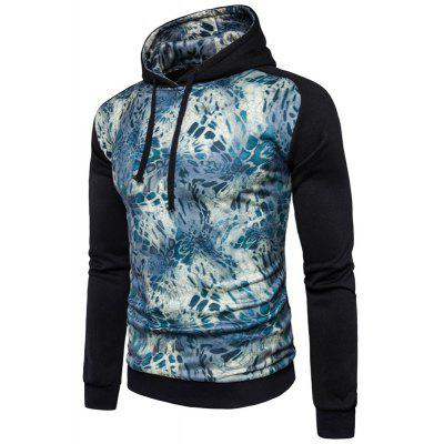 Leisure All-Match Leopard Print Stitching HoodieMens Hoodies &amp; Sweatshirts<br>Leisure All-Match Leopard Print Stitching Hoodie<br><br>Material: Cotton, Polyester<br>Package Contents: 1 xHoodie<br>Shirt Length: Short<br>Sleeve Length: Full<br>Style: Casual<br>Weight: 0.5000kg