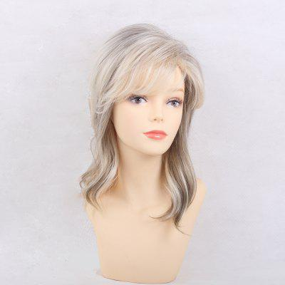 Hot Sale Ethereal Medium Long Human Hair Wig Suitable  All Kinds People