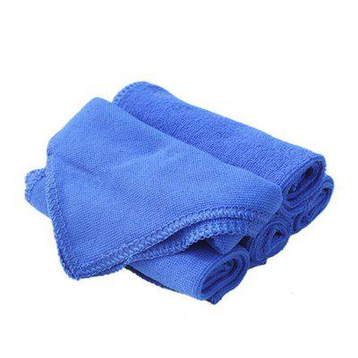 Car Styling Blue Absorbent Wash Cloth Auto Care Microfiber Cleaning Towels Polishing Detailing Towels lsrtw2017 car styling car trunk trims for honda crv 2017 2018 5th generation