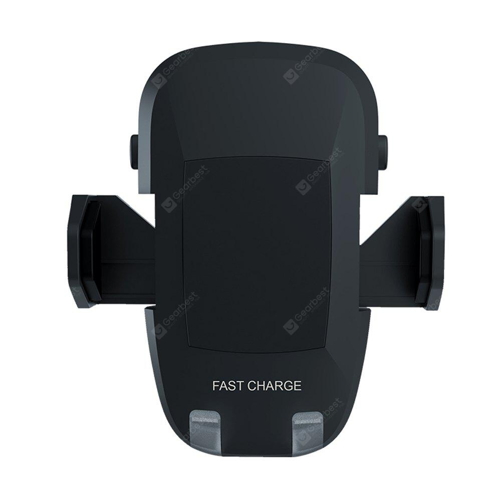 Car Fast Wireless Charger for iPhone X 8 8 Plus Qi Fast Charge Car Wireless Charger for Samsung Galaxy Note 8 S8 Plus