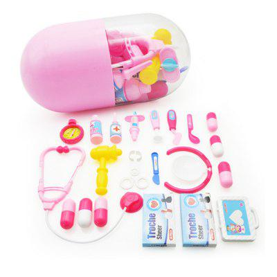 Jogue House Pink Pills Doctor Dressed Up Toys