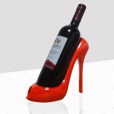 Home Furnishing001 High Heel Shoe Wines Bottle Holder Stylish Conversation Wine Rack