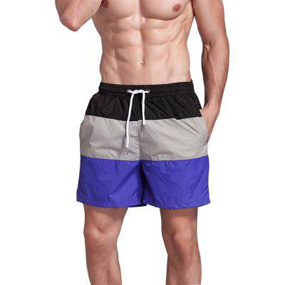 Men's Beach Pants Sports Fitness Loose Casual Quick-Drying Shorts
