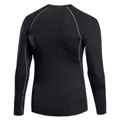 Mens Tight Fitness  Stretch Sweat Quick-Drying T-ShirtSport Clothing<br>Mens Tight Fitness  Stretch Sweat Quick-Drying T-Shirt<br><br>Material: Polyester, Spandex<br>Package Contents: 1 x T-shirt<br>Pattern Type: Solid<br>Weight: 0.2200kg