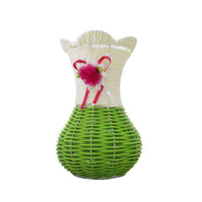 Table Top Decoration Hand-Woven Vase