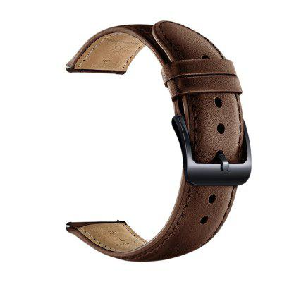 22MM Soft Leather Replacement Bands Strap for Samsung Gear S3 Frontier/S3 Classic