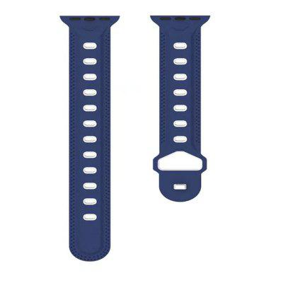 Soft Silicone Bracelet Strap Replacement Band for Apple Watch Series 3 / 2 / 1 42MM