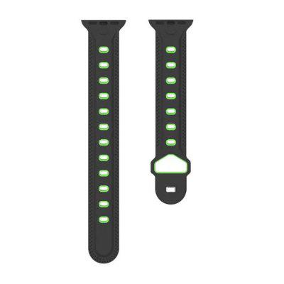 Soft Silicone Bracelet Strap Replacement Band for Apple Watch Series 3 / 2 / 1 38MM