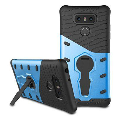 Cover Case for LG G6 Dual Layer Heavy Duty Hybrid Combo Shock-Resistant Full Body Protective with 360 Degree Rota