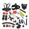 Accessories Suit Head Strap Chest Strap Kit For Action Camera GoPro Hero 6/5S/5/4/3+/3/2/1 - BLACK
