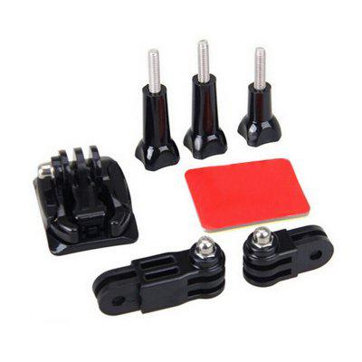 Helmet Side Mount Accessories Set for GoPro Hero 6/5S/5/4/3+/3/2/1