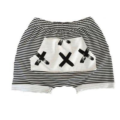 SOSOCOER Children Clothing Boys 2018 Summer Striped Print Shorts