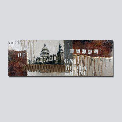 QiaoJiaHuaYuan No Frame Canvas Living Room Sofa Background Bedroom Background Abstract Decorative Painting
