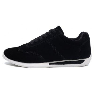 Breathable Wear-resisting Jogging Shoes For MenMen's Sneakers<br>Breathable Wear-resisting Jogging Shoes For Men<br><br>Available Size: 40,41,42,43,44<br>Closure Type: Lace-Up<br>Feature: Breathable<br>Gender: For Men<br>Outsole Material: Rubber<br>Package Contents: 1xShoes(pair)<br>Package Size(L x W x H): 30.00 x 20.00 x 10.00 cm / 11.81 x 7.87 x 3.94 inches<br>Package weight: 0.8000 kg<br>Pattern Type: Solid<br>Season: Spring/Fall<br>Upper Material: Flock