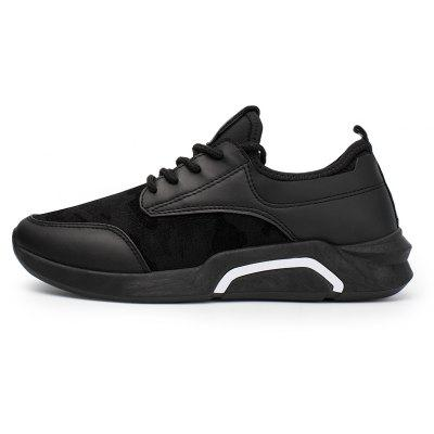 Splicing Breathable Wear-resisting Mens Jogging ShoesMen's Sneakers<br>Splicing Breathable Wear-resisting Mens Jogging Shoes<br><br>Available Size: 40,41,42,43,44<br>Closure Type: Lace-Up<br>Feature: Breathable<br>Gender: For Men<br>Outsole Material: Rubber<br>Package Contents: 1xShoes(pair<br>Package Size(L x W x H): 30.00 x 20.00 x 10.00 cm / 11.81 x 7.87 x 3.94 inches<br>Package weight: 0.8000 kg<br>Pattern Type: Others<br>Season: Spring/Fall<br>Upper Material: PU