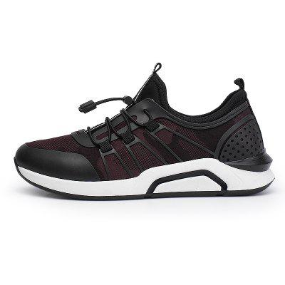 Splicing Breathable Mens Jogging ShoesMen's Sneakers<br>Splicing Breathable Mens Jogging Shoes<br><br>Available Size: 40,41,42,43,44<br>Closure Type: Lace-Up<br>Feature: Breathable<br>Gender: For Men<br>Outsole Material: Rubber<br>Package Contents: 1xShoes(pair)<br>Package Size(L x W x H): 30.00 x 20.00 x 10.00 cm / 11.81 x 7.87 x 3.94 inches<br>Package weight: 0.8000 kg<br>Pattern Type: Others<br>Season: Spring/Fall<br>Upper Material: Cloth