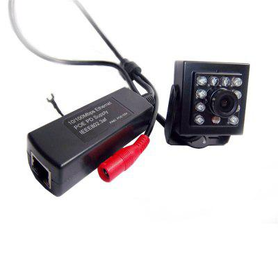 720P IR CUT Mini IR Camera POE IP Smallest Night Vision H62 Network 940NM LED 3.6MM Lens With External POE Securiy